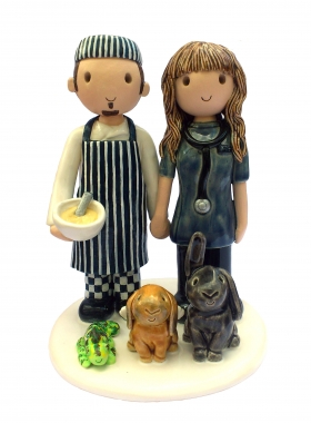 Chef Vet Cake Topper