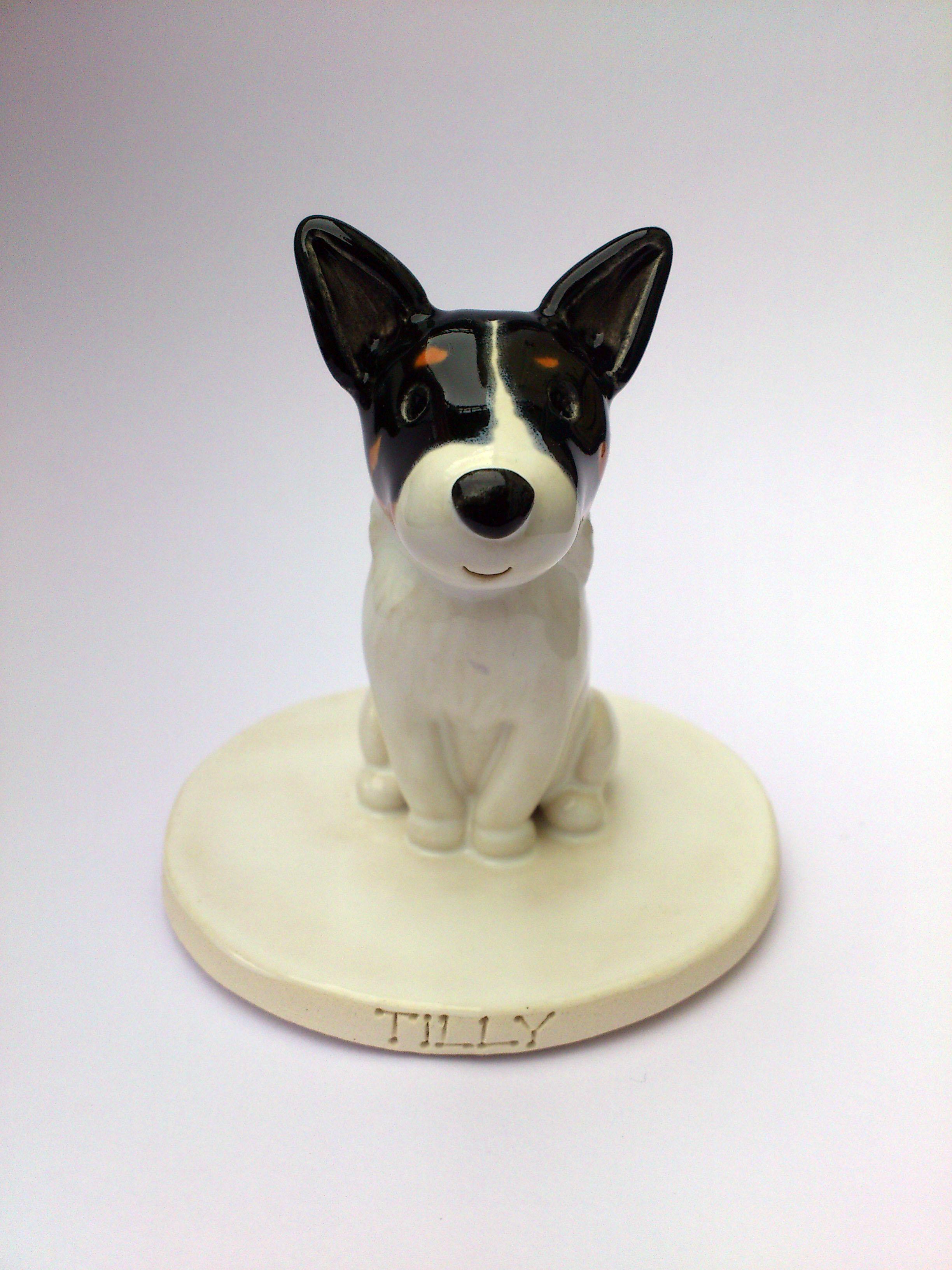 Pet Cake Toppers. Personalised Ceramic Pet Portraits