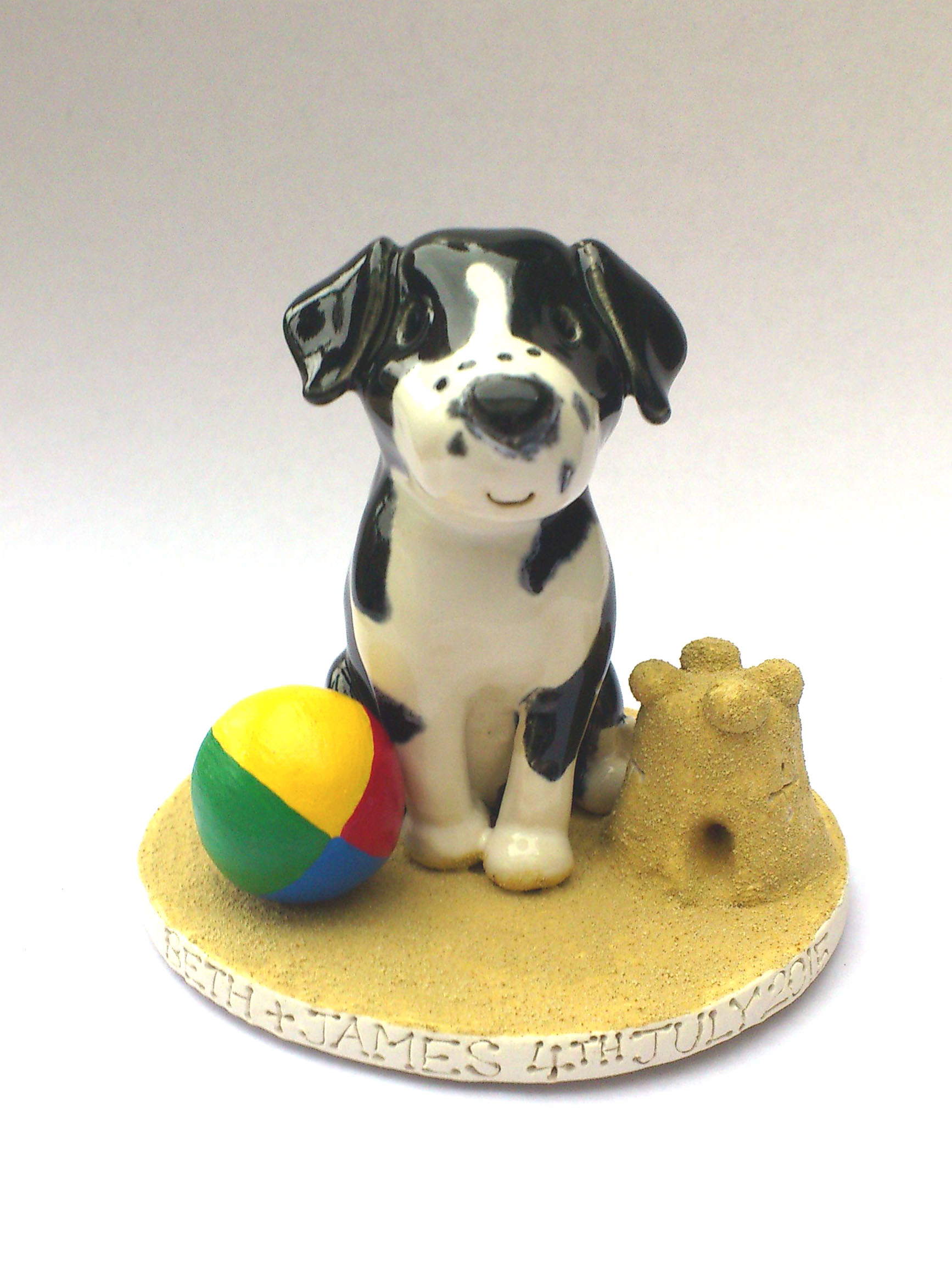 Pet Cake Toppers Personalised Ceramic Pet Portraits