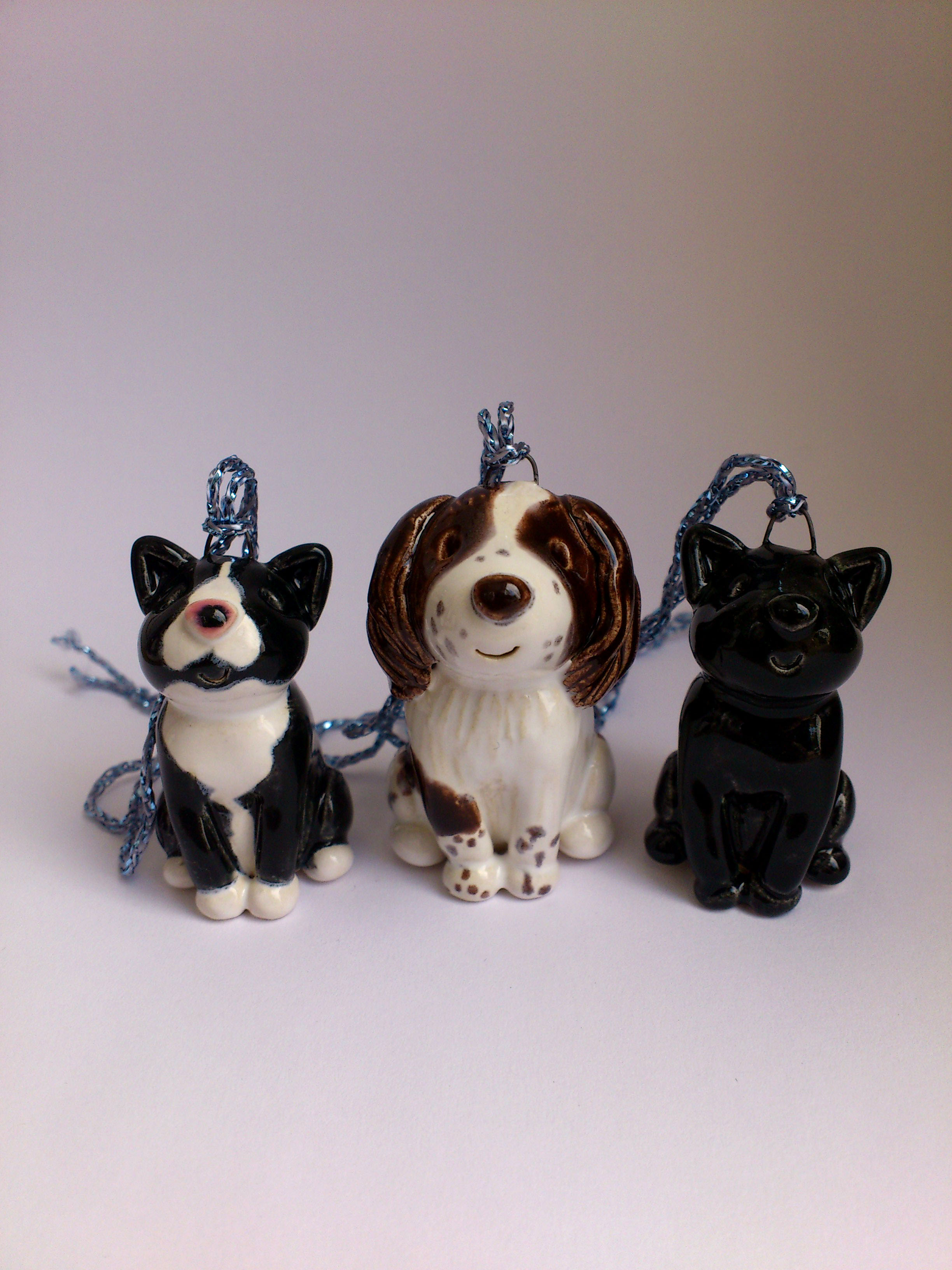Dog Safe Cake Decorations : Pet Cake Toppers. Personalised Ceramic Pet Portraits