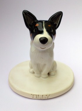 Jack Russell Cake Topper