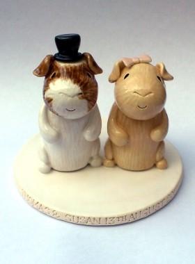Guinea Pig Cake Topper