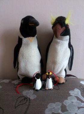 Pottery Penguins