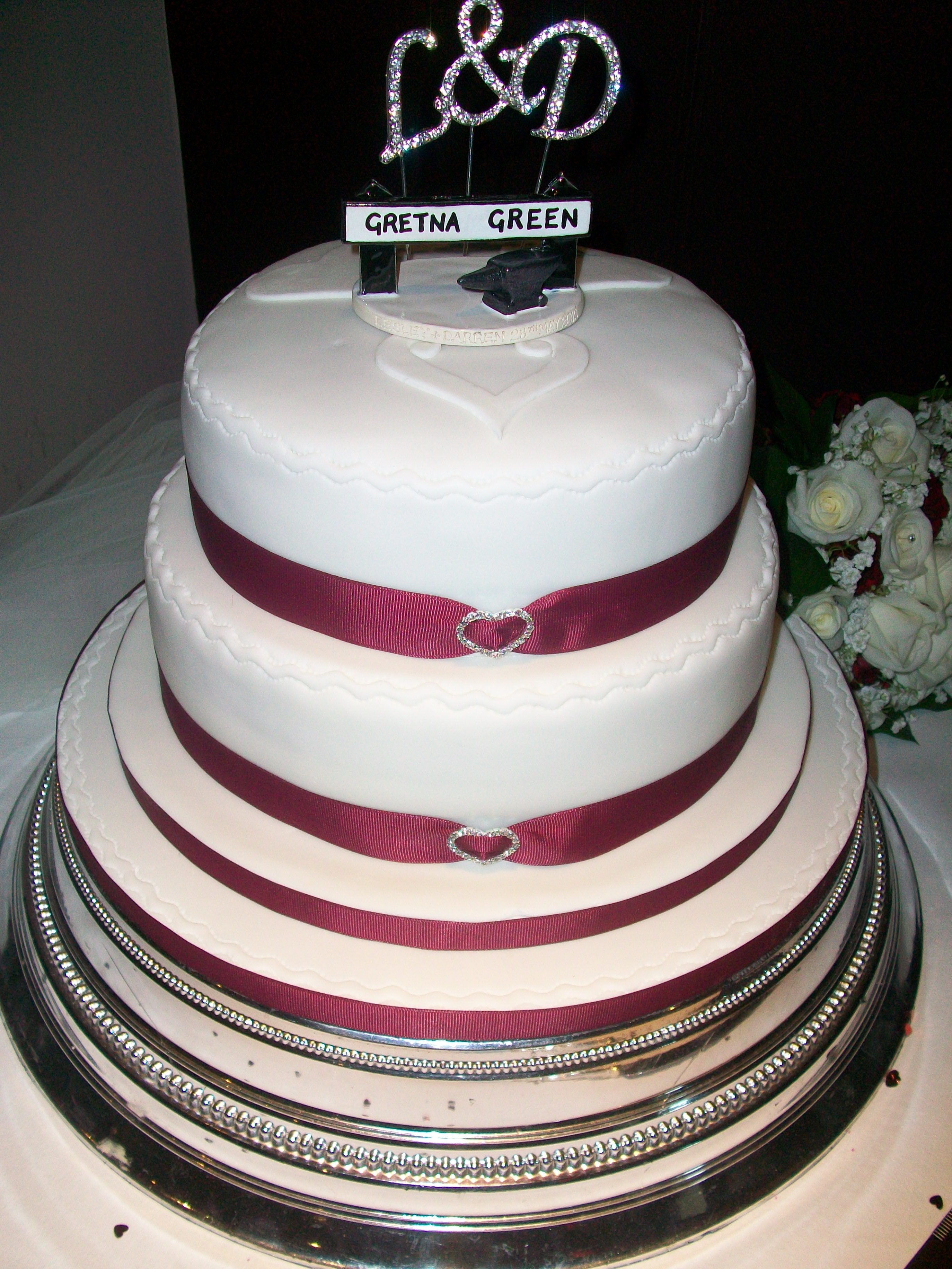 Tier Round Wedding Cakes Get Married Cakes