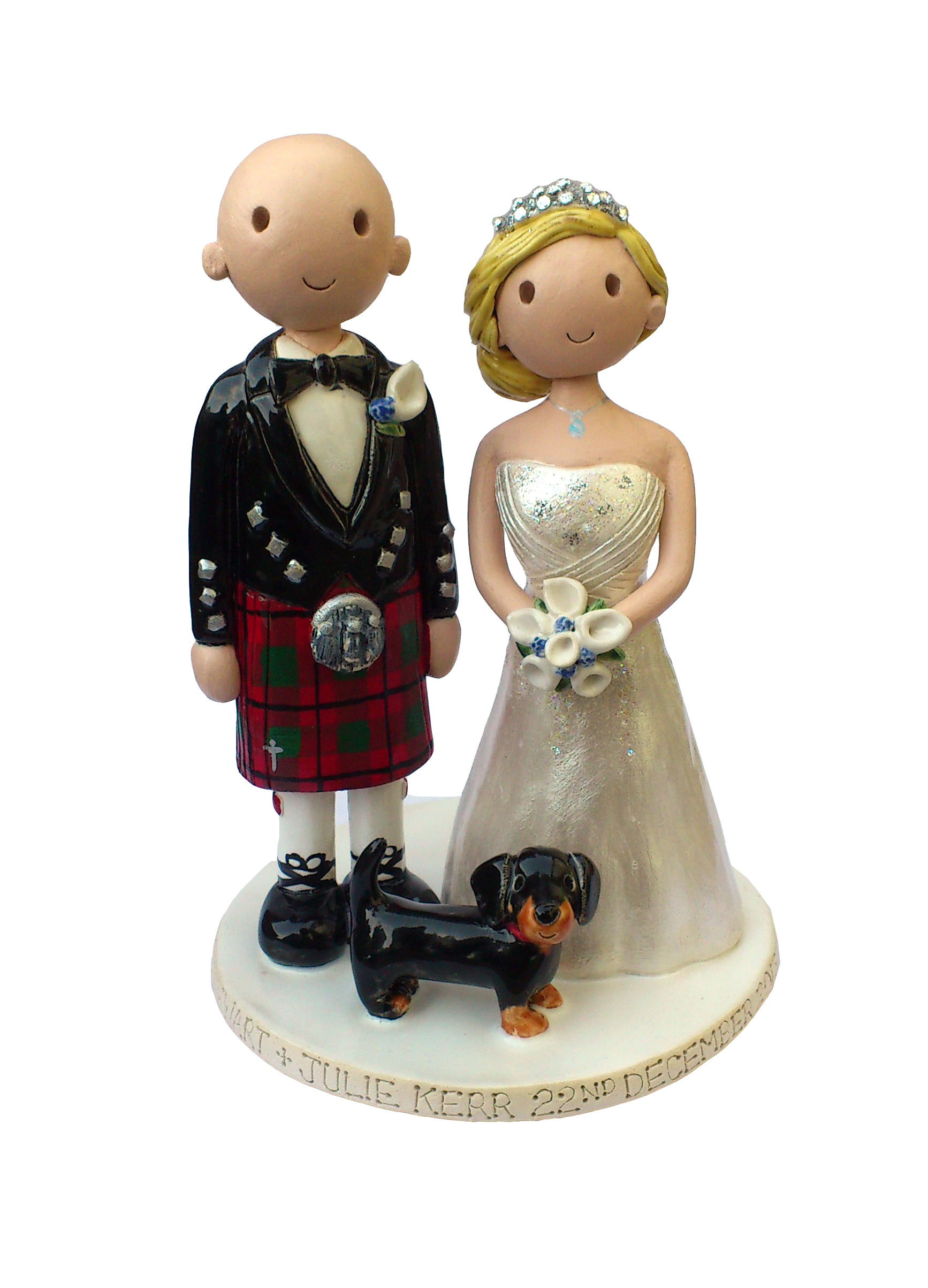 Wedding Cake Toppers Gallery Hand Made Personalised Cake