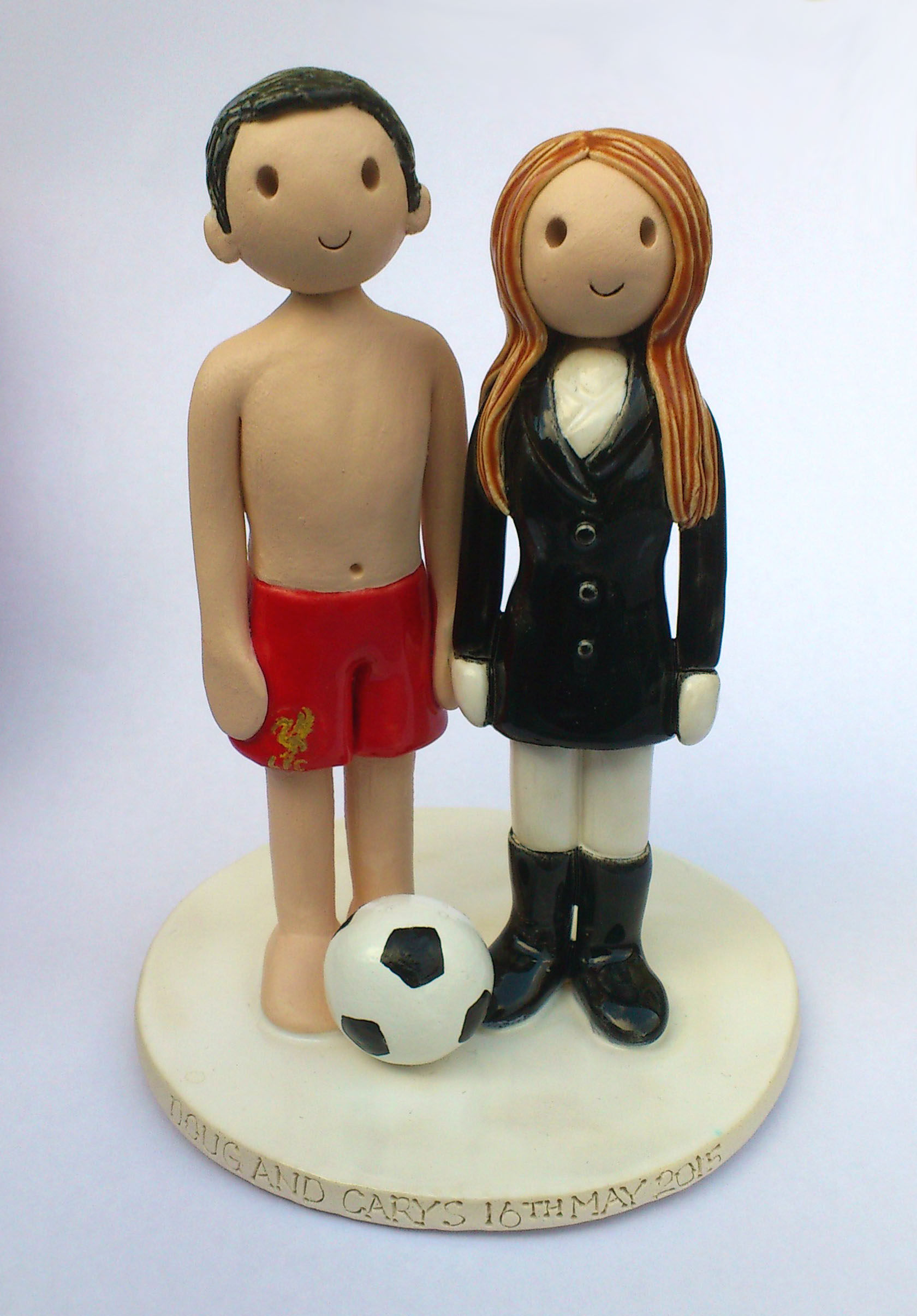 Tanja Cake Topper Artist : Wedding Cake Toppers Gallery. Personalised Cake Topper ...