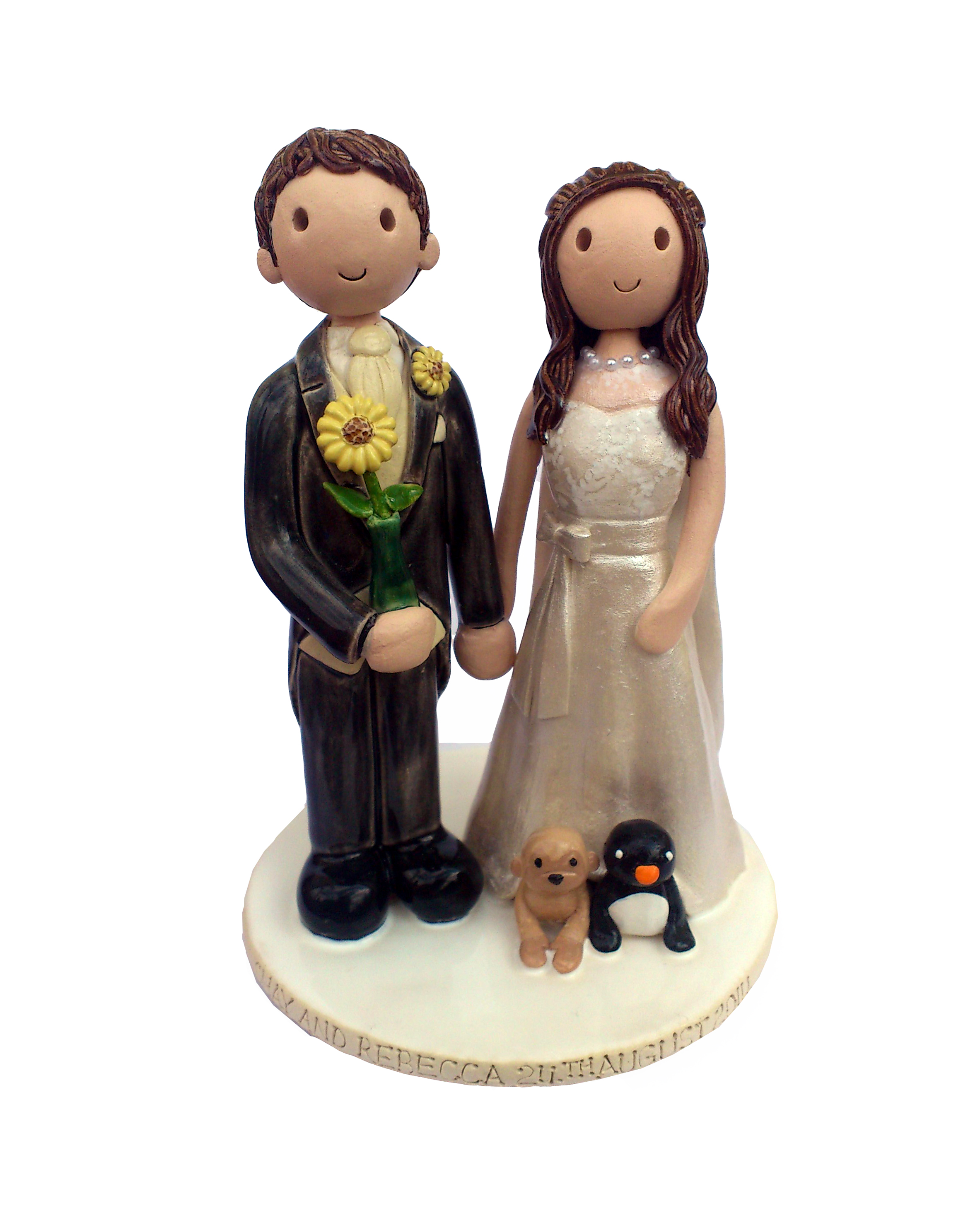 Cake Decorations Uk : Wedding Cake Toppers Gallery. Personalised Cake Topper ...