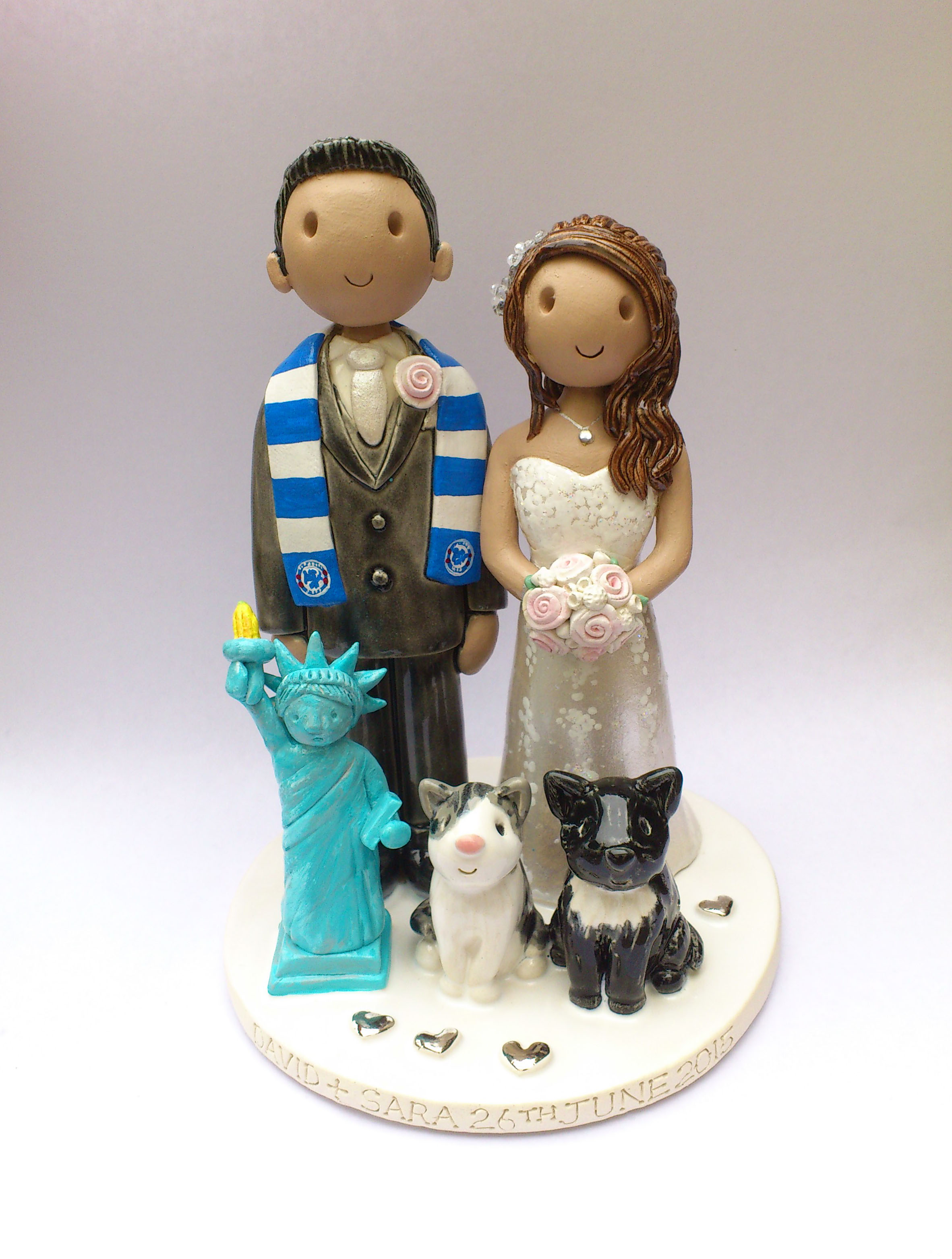 What Do You Call The Statue On Wedding Cake
