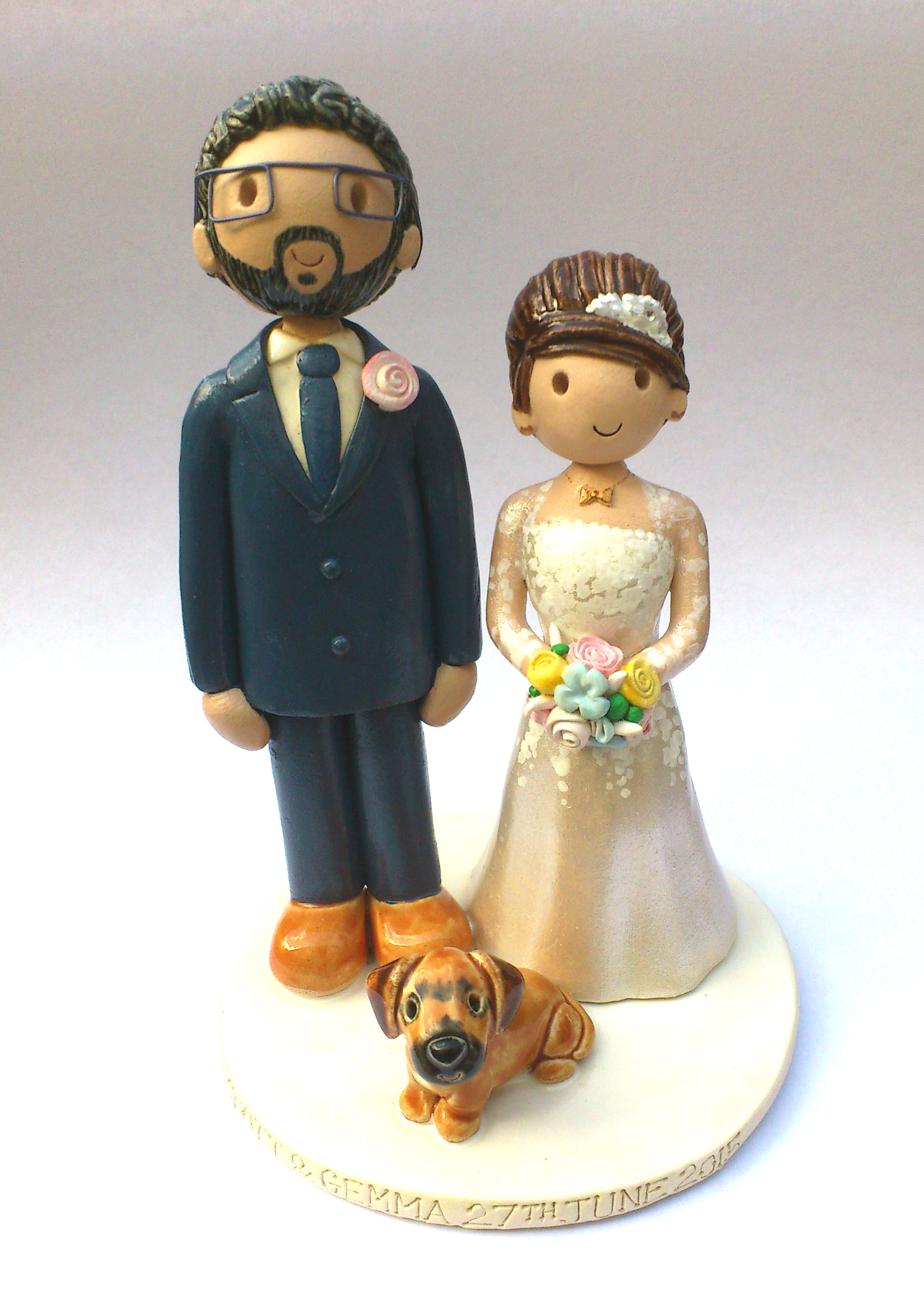 Tanja Cake Topper Artist : Wedding Cake Toppers Gallery. Examples Of Toppers We Have ...