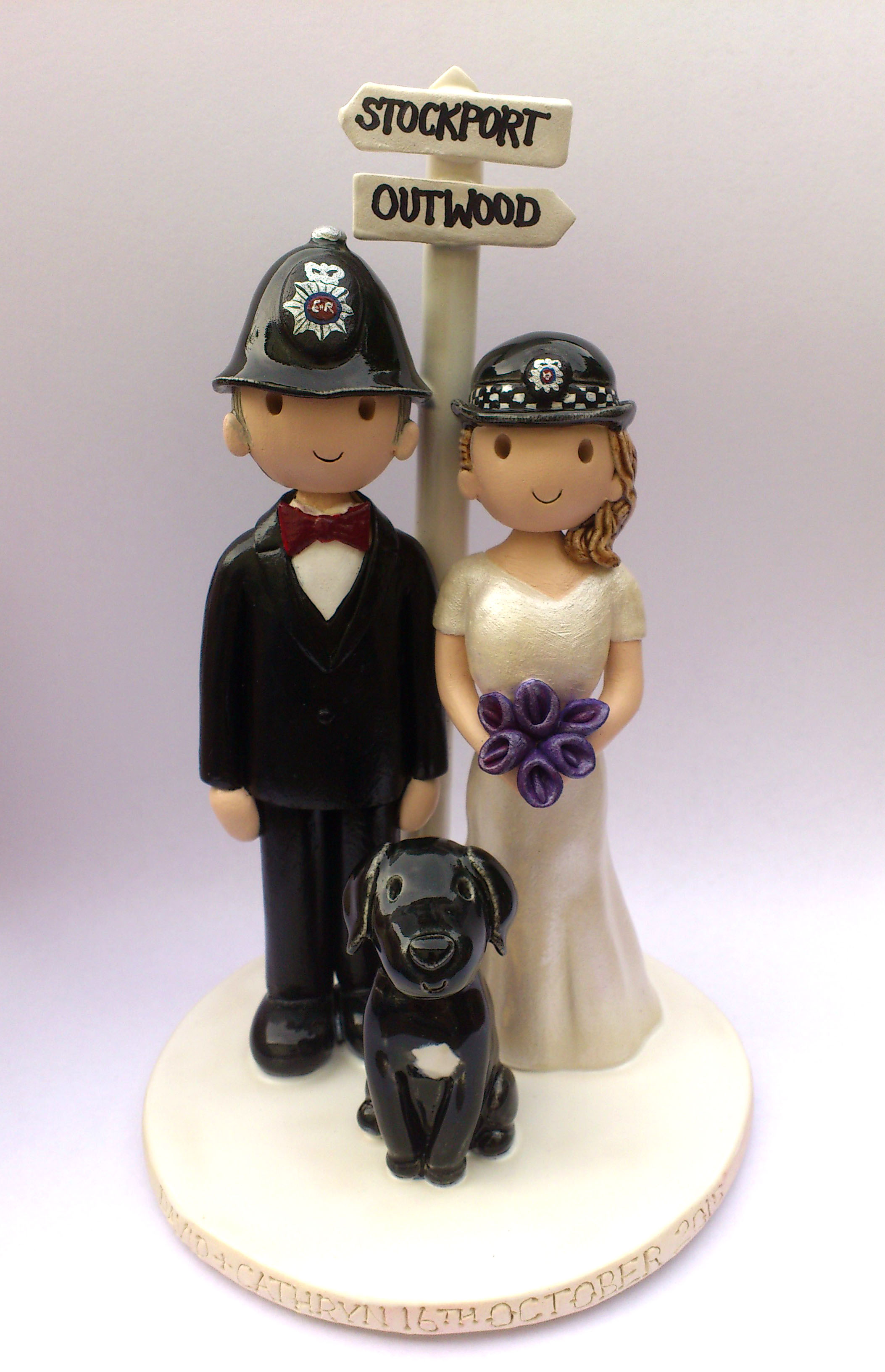 Cake Toppers In Uk : Wedding Cake Toppers Gallery. Hand Made, Personalised Cake ...