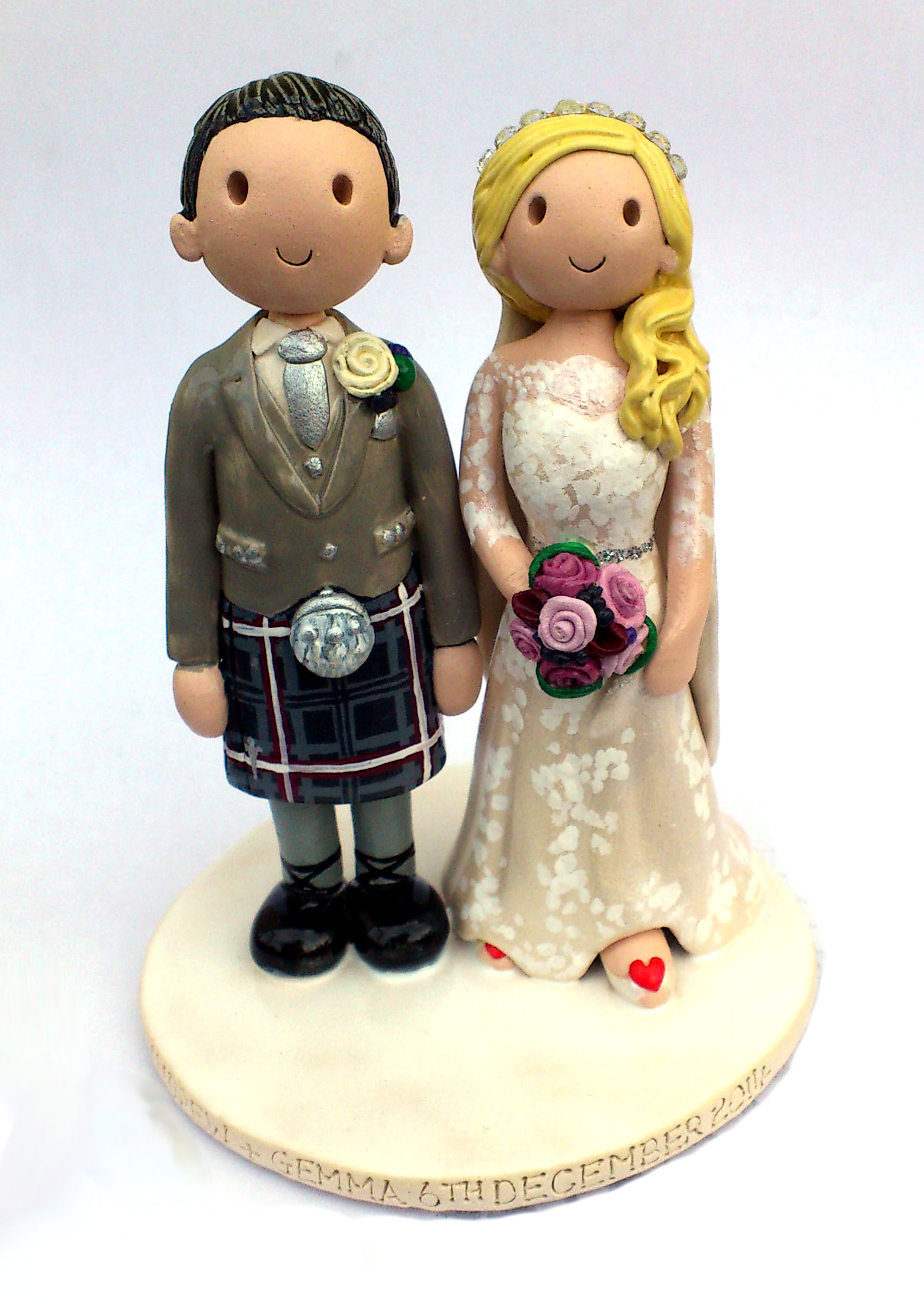 100+ [ Flower Wedding Cake Toppers Uk ] Photo Cake ...