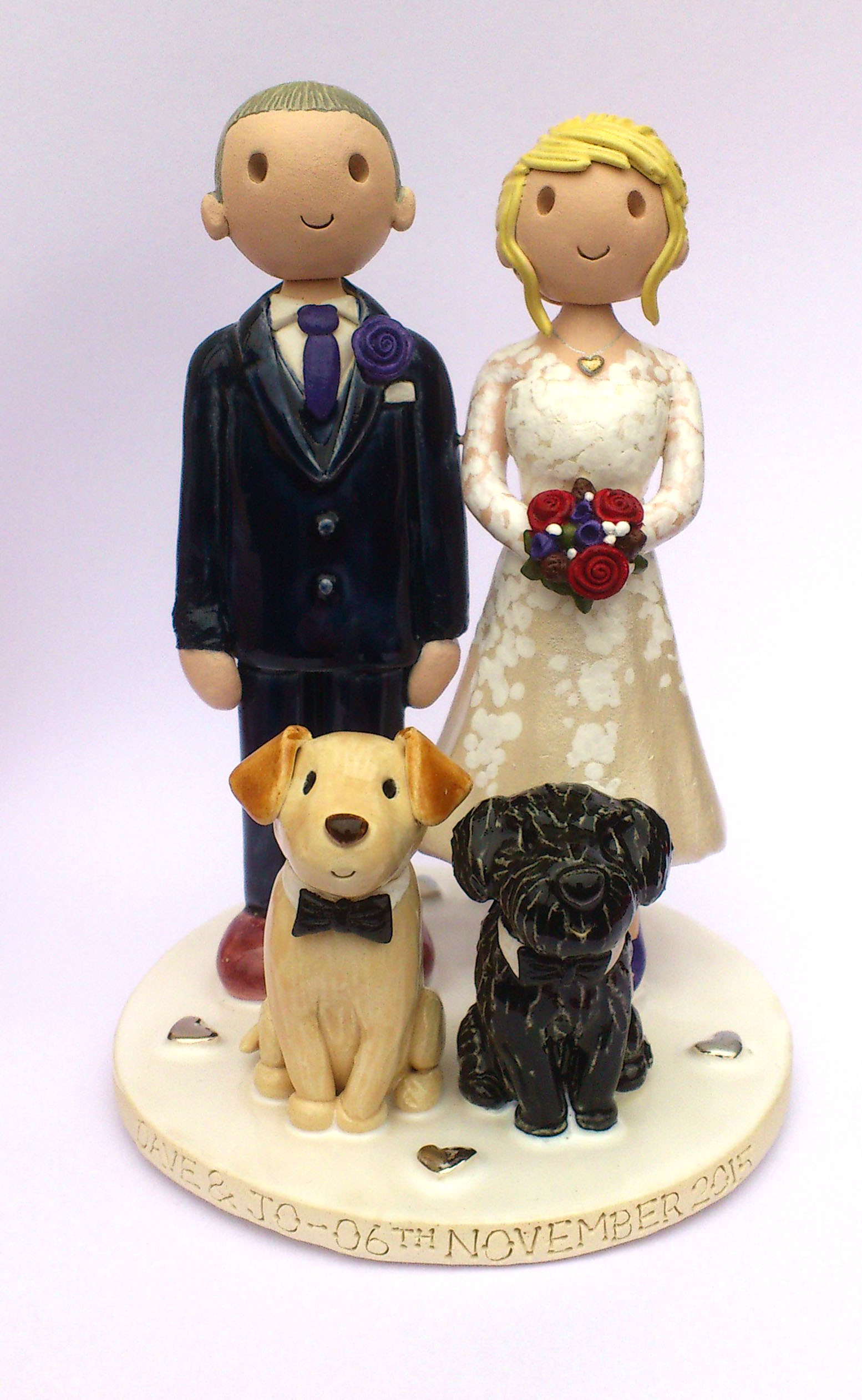 Wedding Cake Toppers Gallery Personalised Cake Topper Pictures