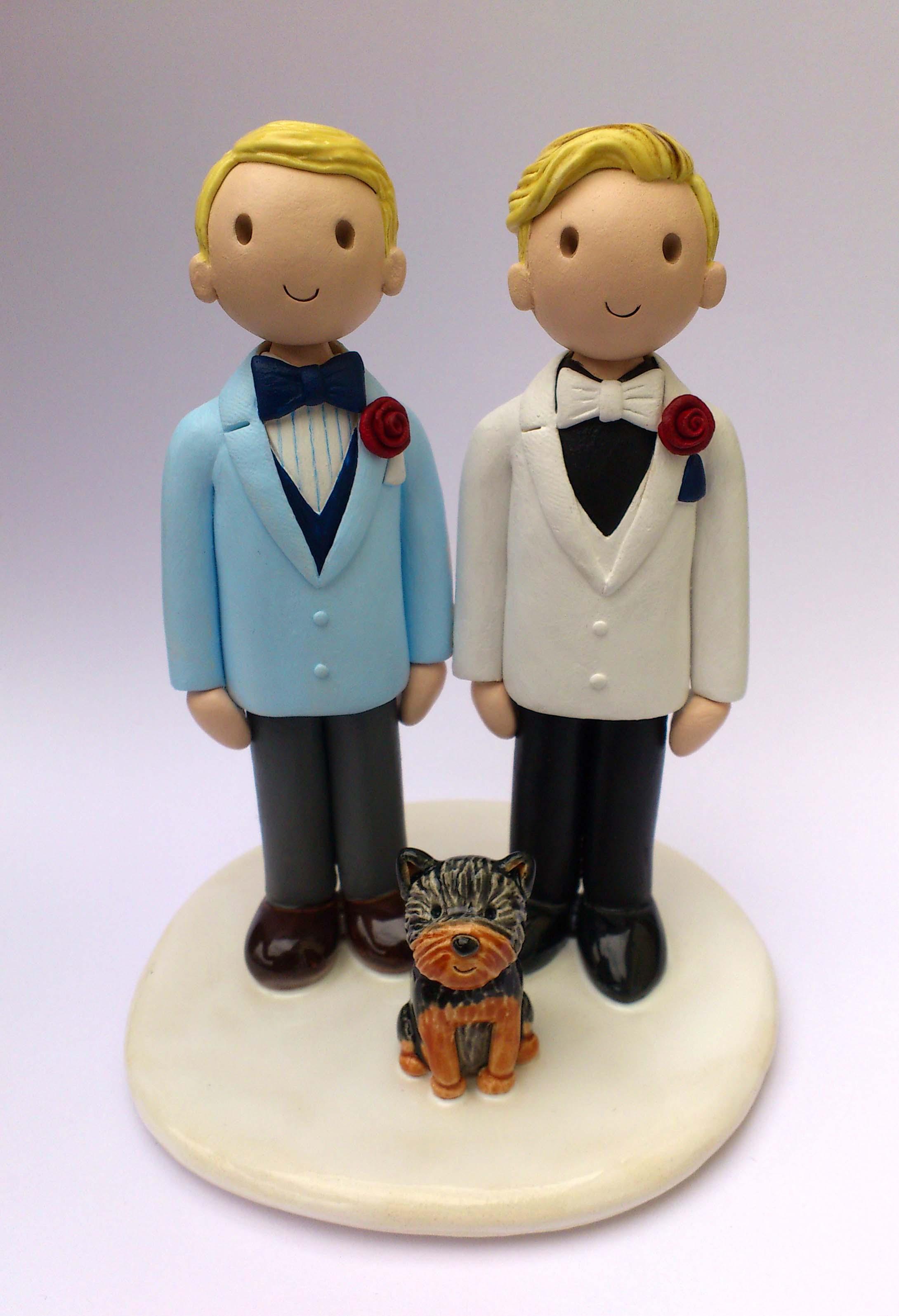 Gay Wedding Cake Toppers Uk