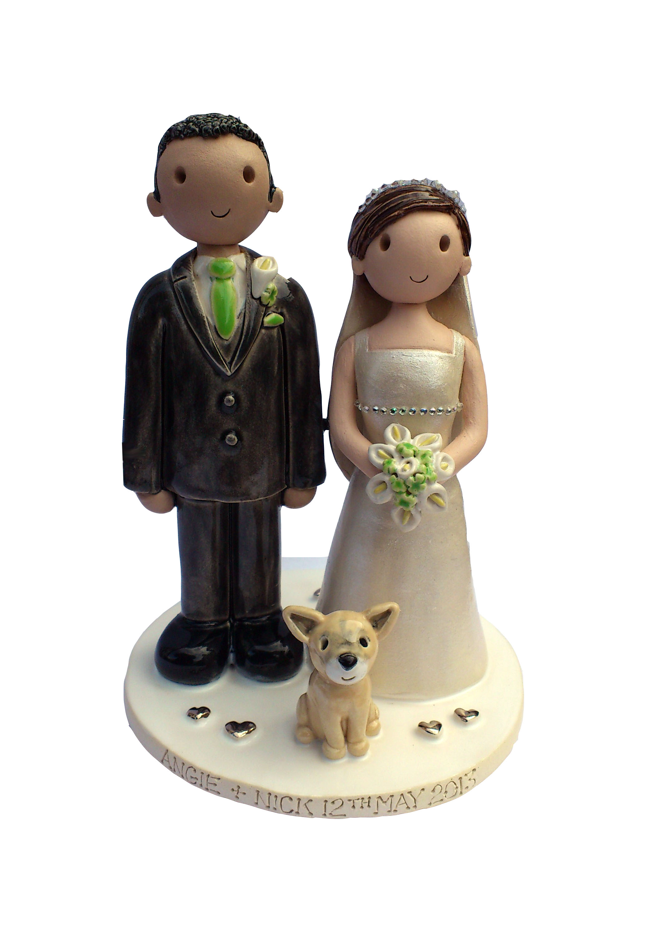 Cake Toppers In Uk : Wedding Cake Toppers Gallery. Personalised Cake Topper ...