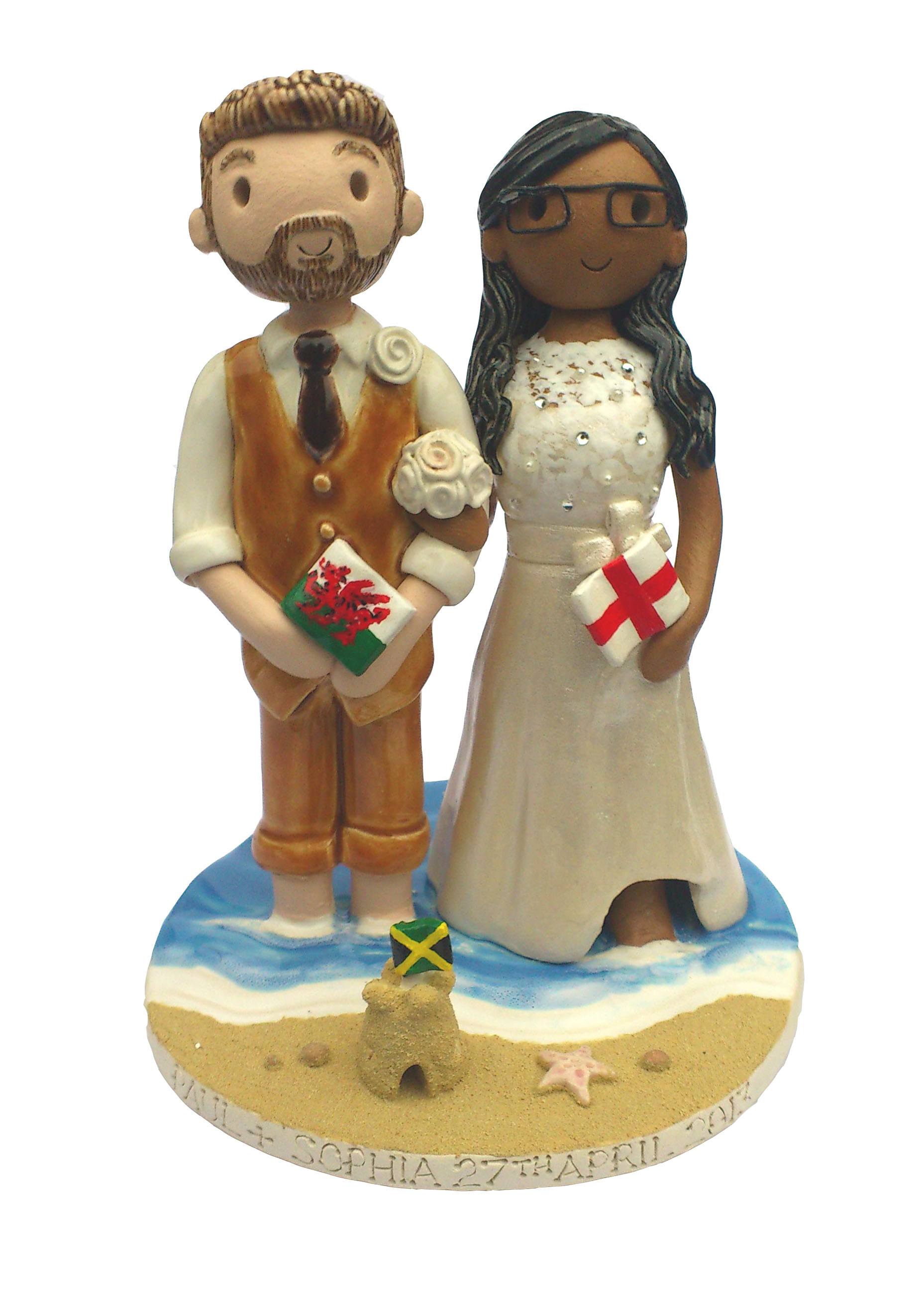 Interracial Cake Toppers Uk