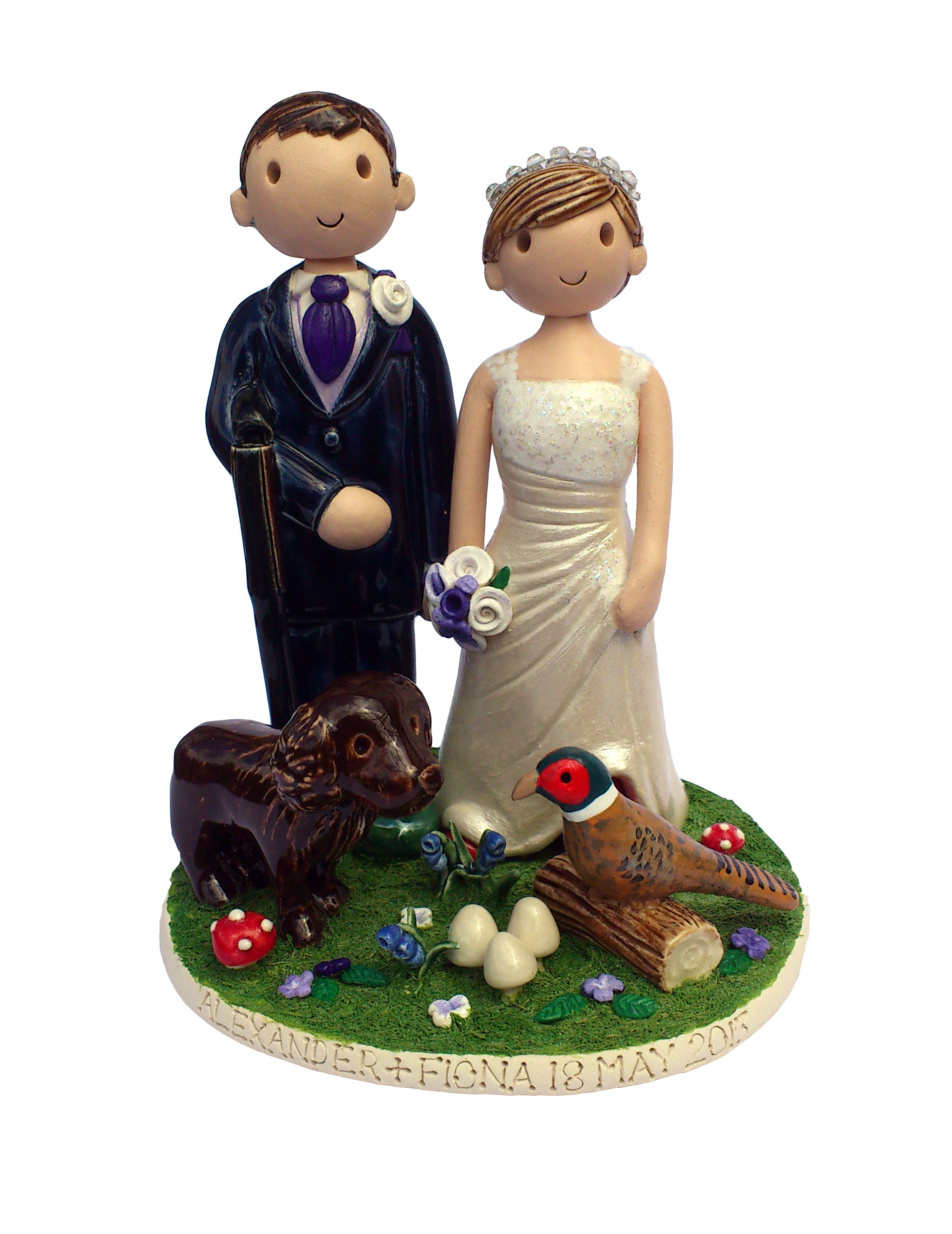 Pics s Hunting Wedding Cake Toppers Our Price 39 95