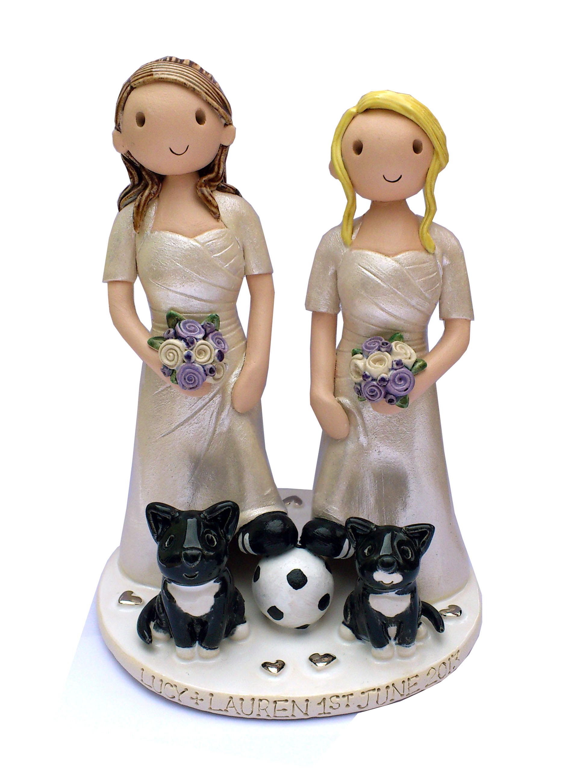 Cake Toppers In Uk : Wedding Cake Toppers Gallery. Examples Of Toppers We Have ...