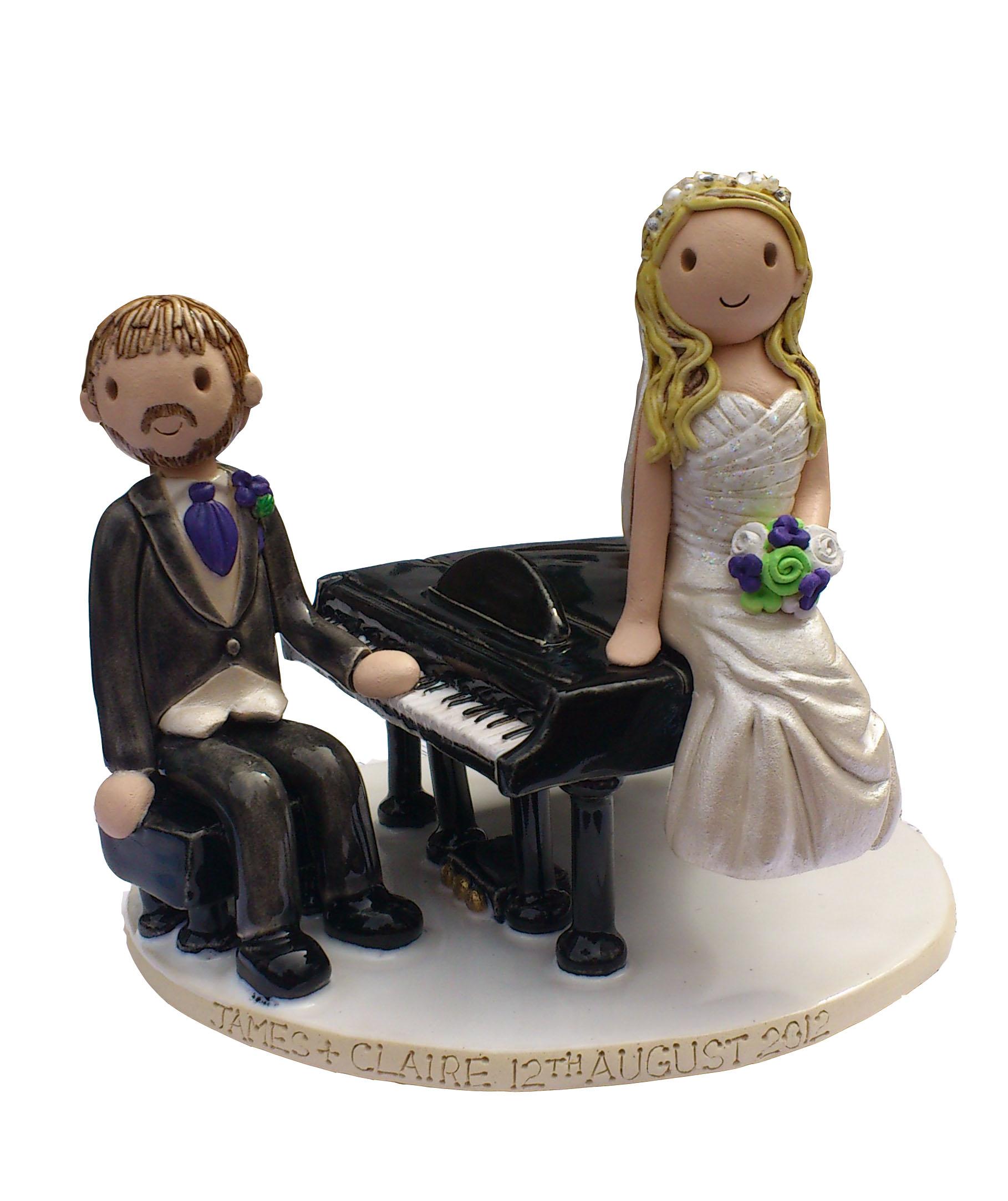 Piano Cake Topper Uk