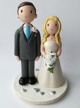 Made to match bride and groom