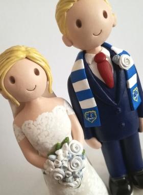 Football wedding top
