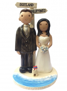 Beach Wedding Topper