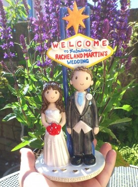 Las Vegas Wedding Topper