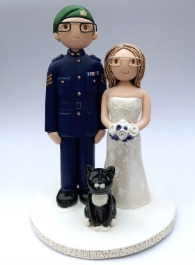 Forces cake topper