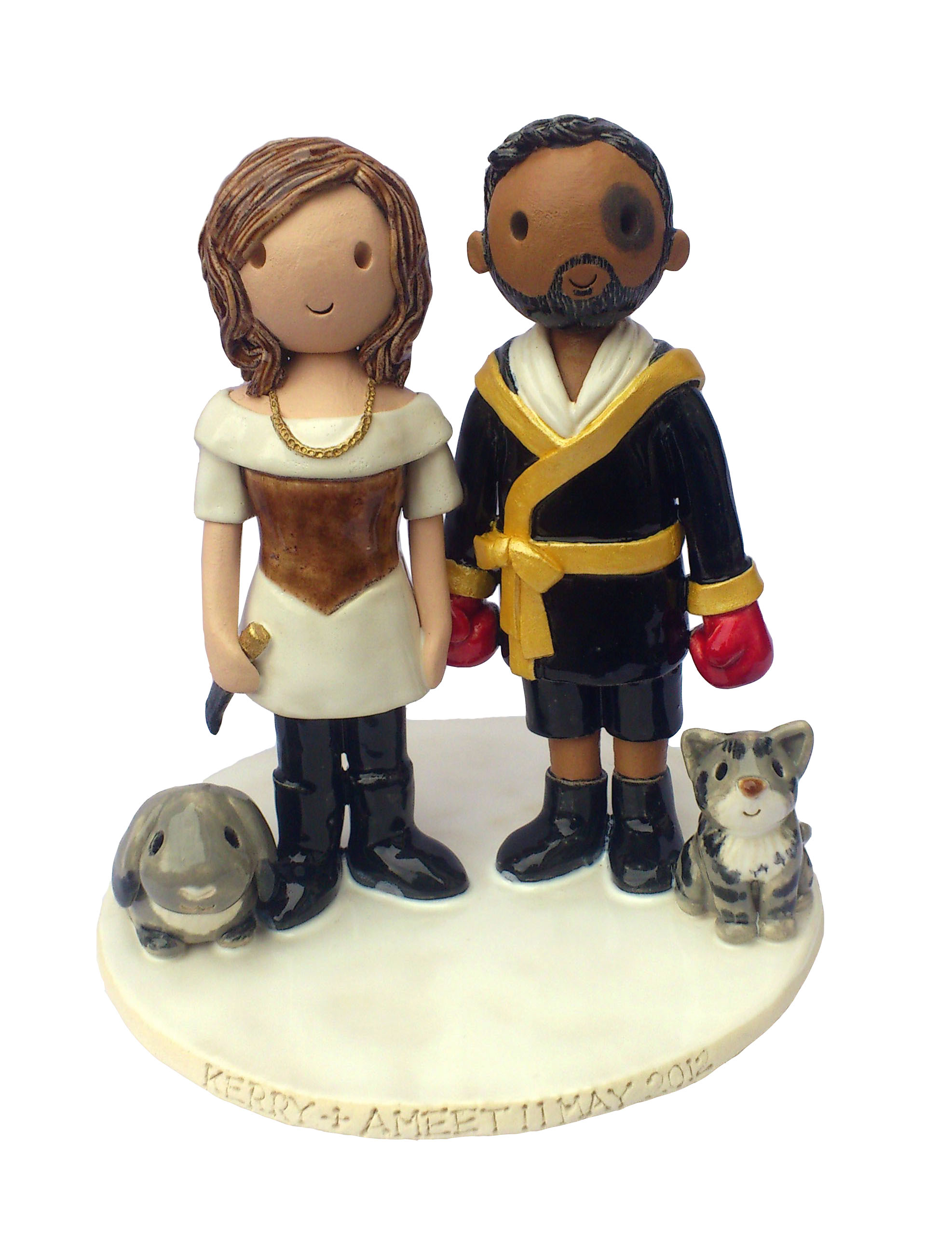 Cheap Bobblehead Cake Topper