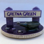 Purple Gretna Green Topper