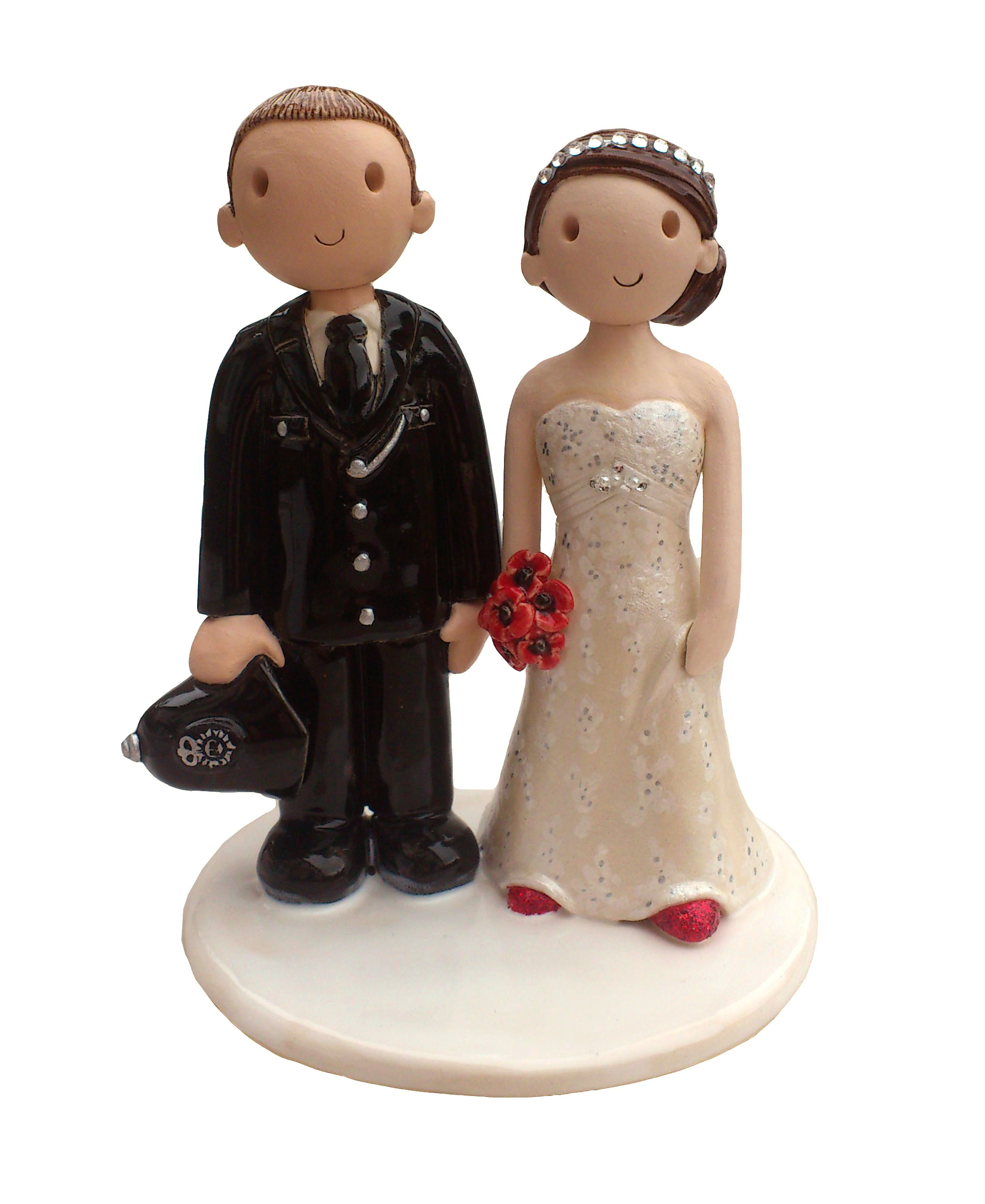 personalised clay wedding cake toppers uk wedding cake toppers made personalised wedding cake 18210