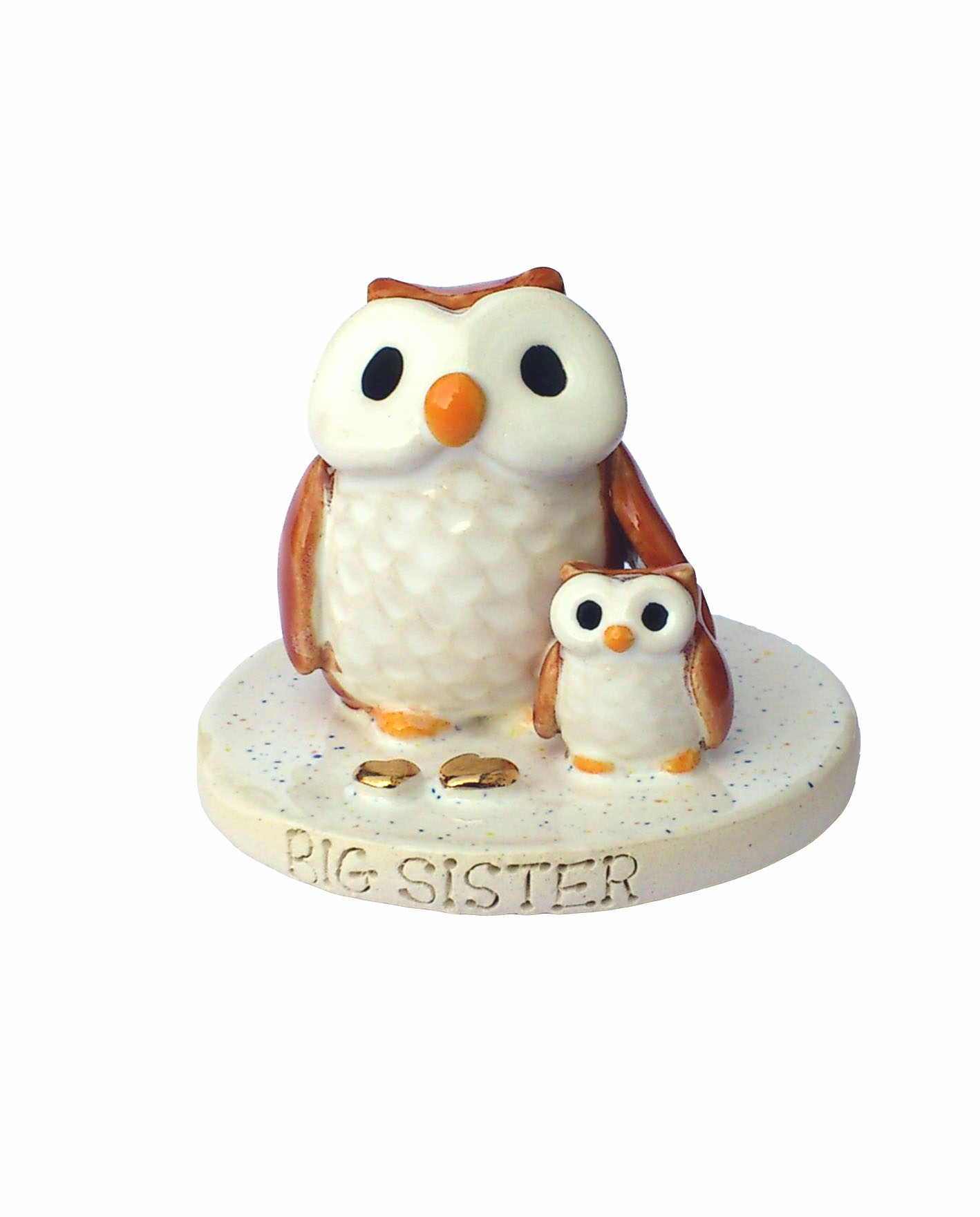 ceramic owl wedding cake toppers pet cake toppers personalised ceramic pet portraits 12489