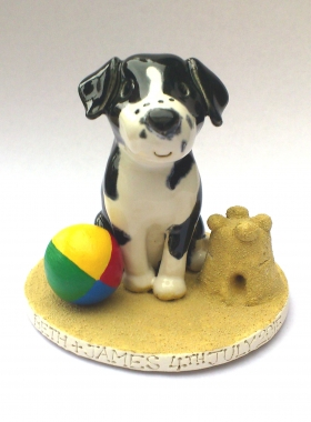 wedding cake toppers dogs uk pet cake toppers personalised ceramic pet portraits 26452