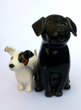 Labrador and Jack Russell