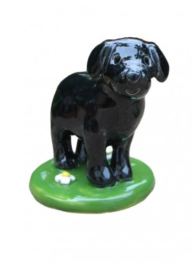 Black Dog Cake Top