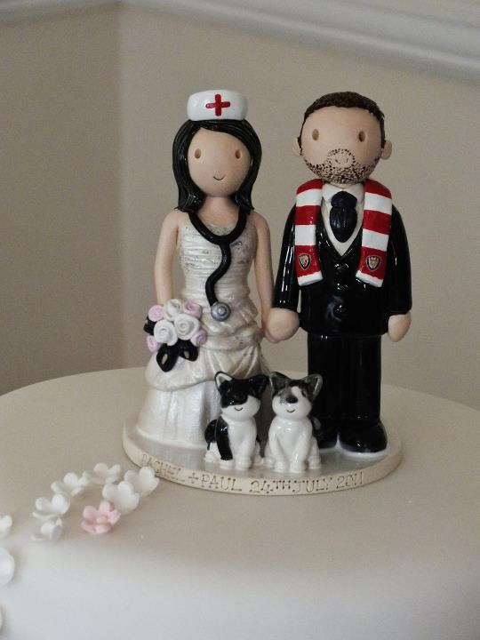 wedding cake figures uk examples of wedding cake toppers made for our customers 22609