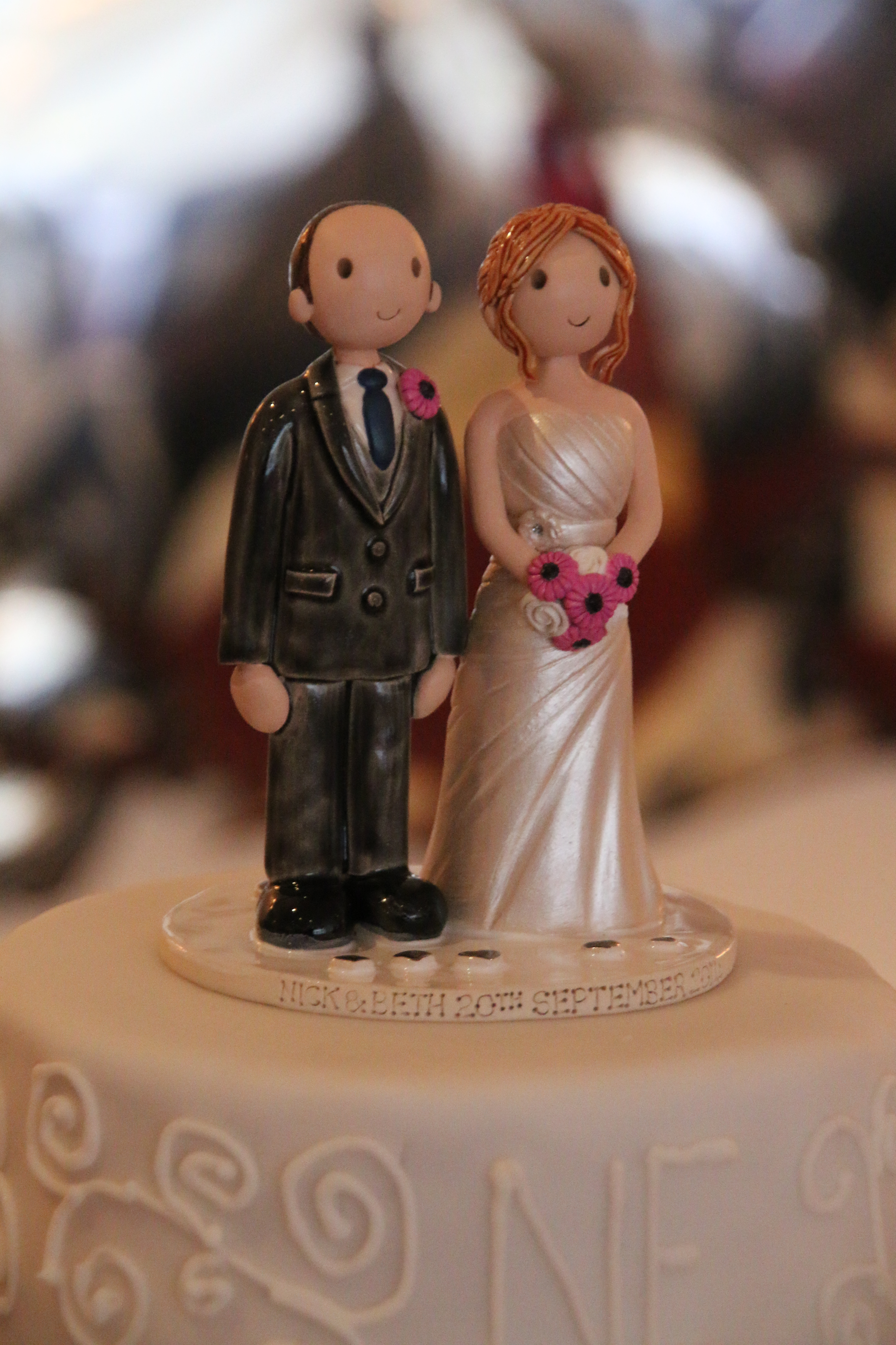 best wedding cake toppers uk examples of wedding cake toppers made for our customers 11704