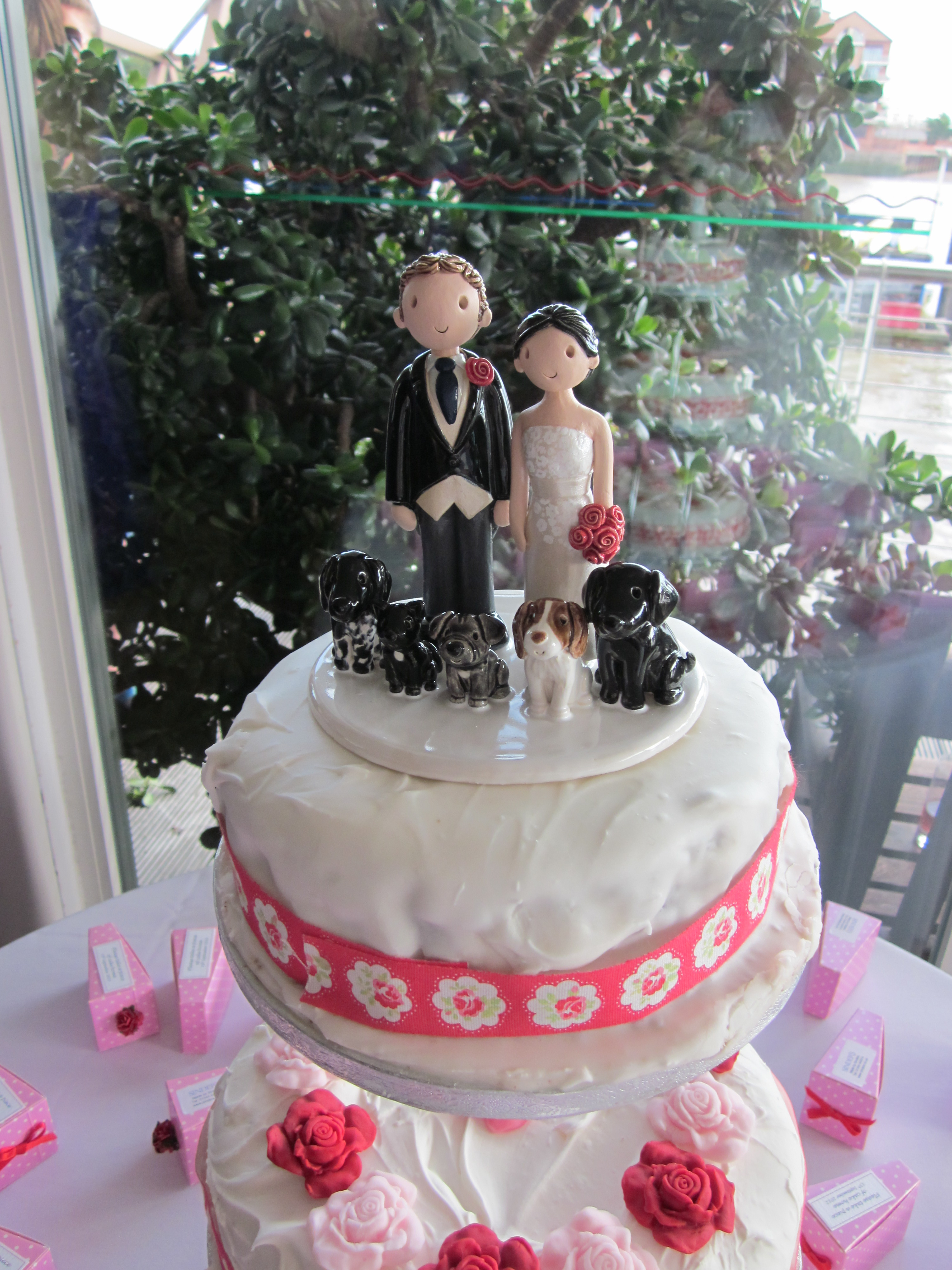 red wedding cake toppers examples of wedding cake toppers made for our customers 19179