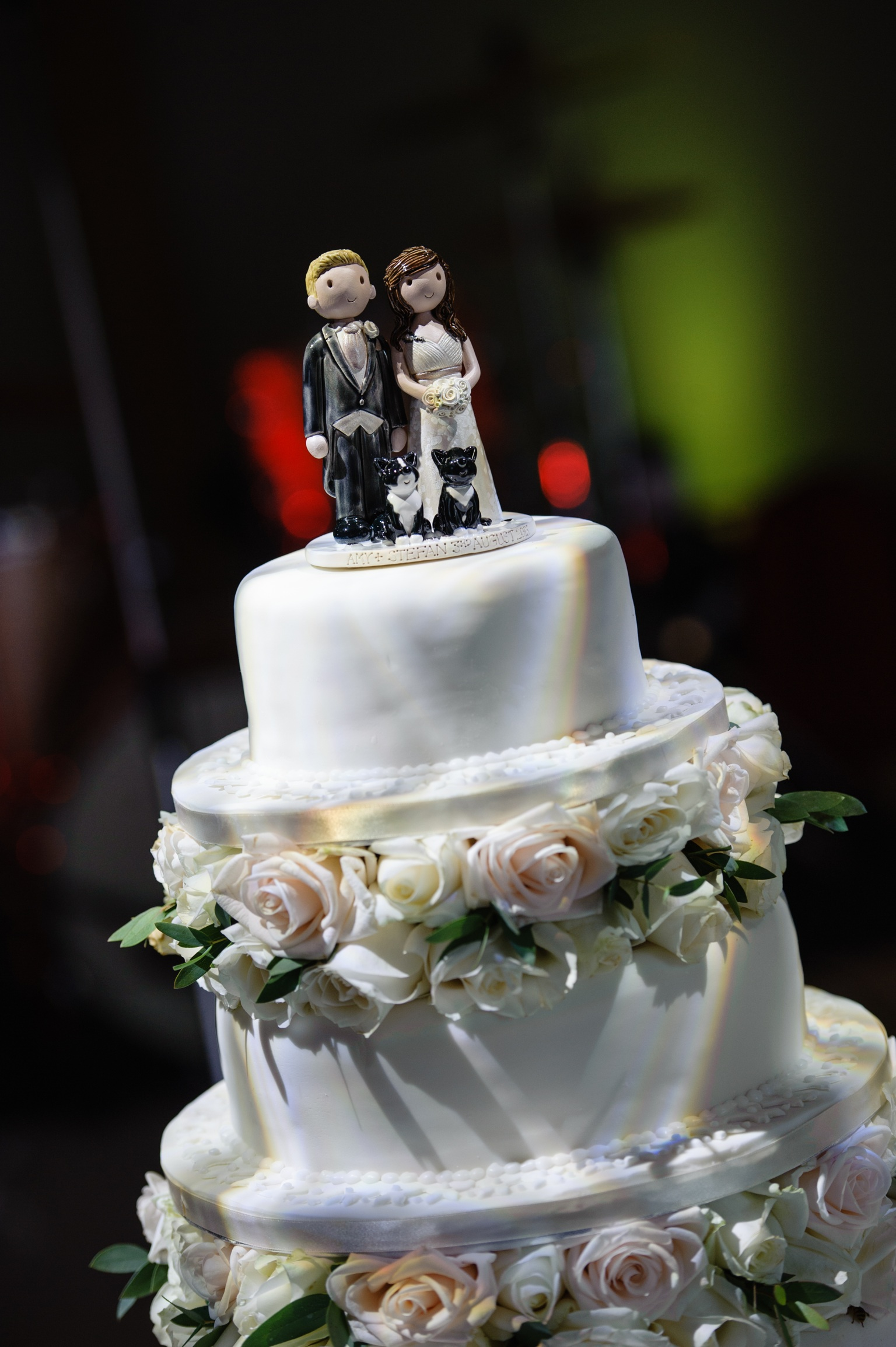 wedding cake figures examples of wedding cake toppers made for our customers 22608