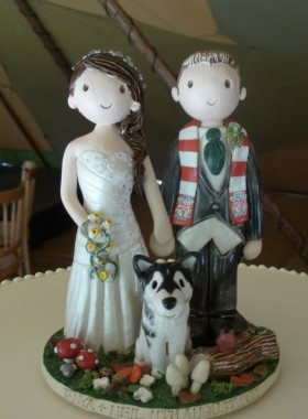 Woodland Cake Topper