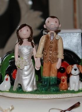 Farmer Cake Topper