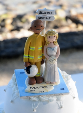 Map Cake Topper