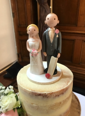Cricket Wedding Topper