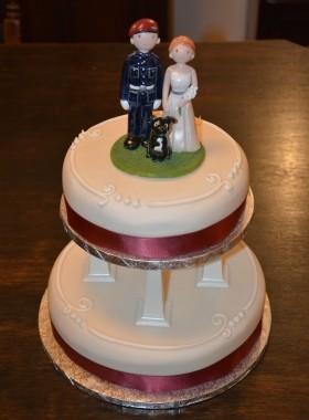 Para Cake Topper