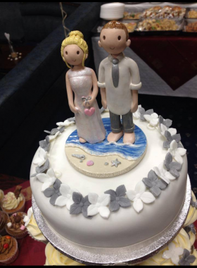 Cake Toppers Beach