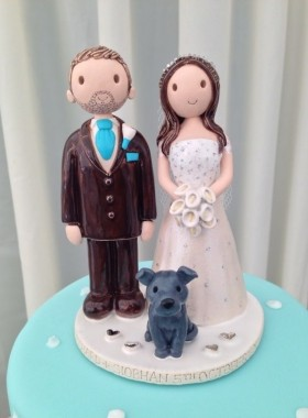 Cake Topper Turquoise