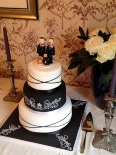 Civil Partnership Topper