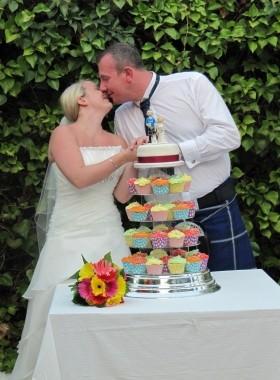 Cup Cake Wedding