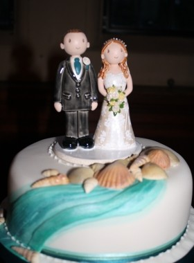 Sea Shell Cake Topper