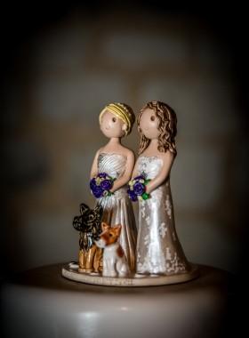 Brides Cake Topper