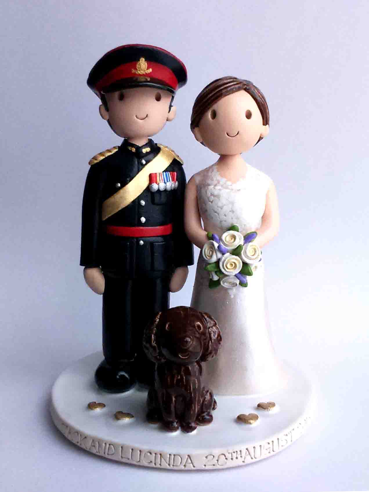 Army Wedding Cake Toppers Uk